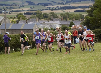 The start of the fell race